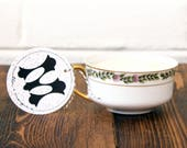 Soy Candle. White Ginger with Amber Soy Candle. Bergamot Candle. Tea Candle. Unique Candles. Unique Candle Scent. Vintage Teacup.