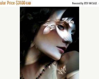 HUGE SUMMER SALE 40% off The beauty of Pearl....Fine art giclee reproduction print.....