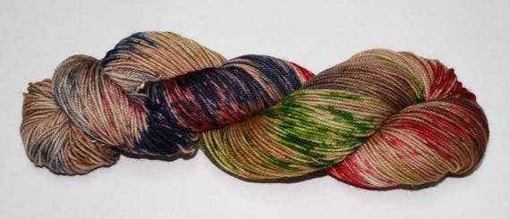 Ready to Ship - Debt of Honor Hand Dyed Sock Yarn - Sport Sock