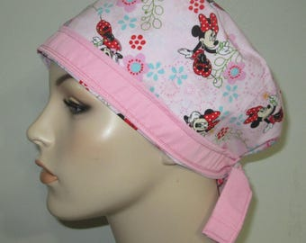 Chemo Hat FREE Ship Pediatric Scrub Cap OR Cap Nurses Cap Surgical Cap  Adjustable Chemo Hat