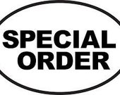 Special Order Juan