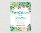 Succulent Bridal Shower I...