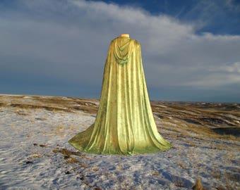 Cloak - Cape - Twilight - Medieval - Renaissance - Vampire - Halloween Costume -Sage Green - Renaissance Festival