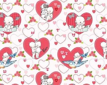 ON SALE Riley Blake Designs Kewpie Love - Main Cream