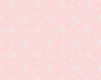 15% OFF Penny Rose Fabrics Bunnies and Blossoms Floral Pink