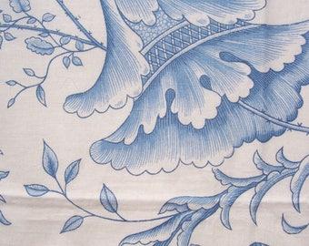 Vintage 50s 60s WAVERLY Decorator Fabric Sample 36 X 16
