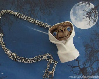 E.T. - Extra Terrestrial necklace