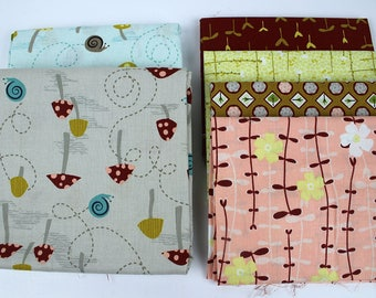 OOP Shade Garden by Michelle Engel Bencsko for Henry Glass Fabrics bundle