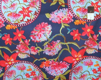 Nel Whatmore PWNW064 Orient Midnight Cotton Fabric By Yard