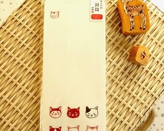 Kawaii Japanese Washi Paper Envelop - Little Panda