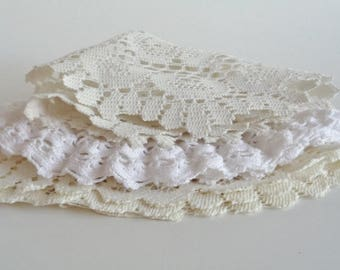 Vintage Doilies Lot of 3