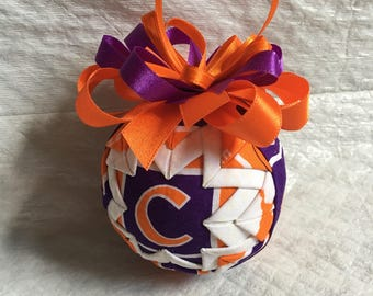 Clemson University Ornament - Tigers Inspired Ornament - Christmas Ornament - Christmas Gift, Hostess Gift