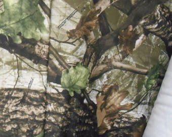 SPANDEX KNIT camo camouflage fabric True Timber DS1 2-way stretch free ship