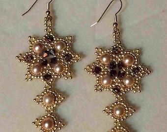 Tutorial for the Star of Bethlehem Earrings