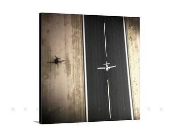 Aviation Art, Airplane Print, Airplane Art, Aeronautical Art, Gift for Pilot, Airplane Photography, Aircraft Print, Square Art, Canvas Art