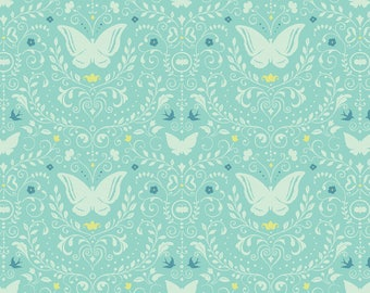Picadilly Turquoise Piccadilly - Chelsea Market - Brenda Walton - Blend Fabric 100% Quilters Cotton 123.104.05.1