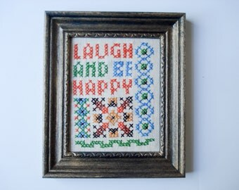 Laugh and be Happy - sweet little picture