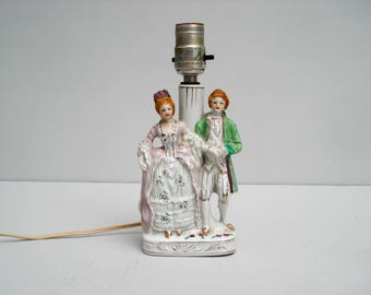 Exquisite table lamp - charming couple