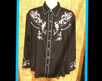Vintage reproduction Scully western shirt