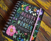 2018-2019 Planner | BEAUTY MAGIC WONDER | Katie Daisy Datebook