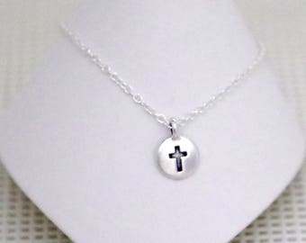 Anklet / Ankle Bracelet - Cross - All Sizes - All Signs - Sterling SilverFilled Chain - TierraCast Charm