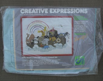 Crewel Embroidery Creative Epressions by Creative Circle Kit New NOS