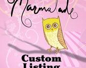 Custom Listing For Karen