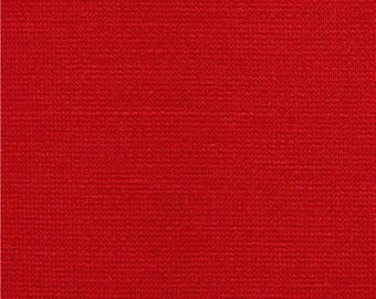 218332 solid red Robert Kaufman stretch fabric