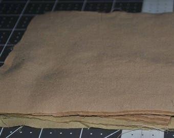 Pack of 51 Neutrals 5 inch Squares Beige Khaki Scrap Quilting Stash