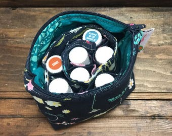 Essential Oil Pouch,Oil Pouch, Oil Storage, Blossom