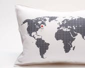map pillows