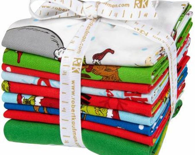 How The Grinch Stole Christmas Fat Quarter Pack