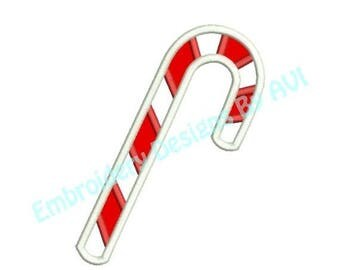 SALE 65% OFF Candy Cane Applique II Christmas Machine Embroidery Designs 4x4 & 5x7 Instant Download Sale