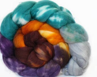 Gaelic 4 oz Merino softest 19.5 micron Roving Top for spinning