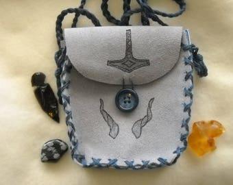 Mighty Thor's Mjollnir Spell Bag, Shaman Medicine Bag