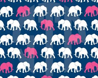 New! Elephants Digital Paper (Instant Download)