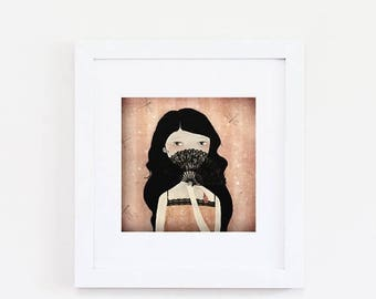10% Off - Summer SALE L'Eventail (pink edition) 16/50 - Deluxe Edition Print