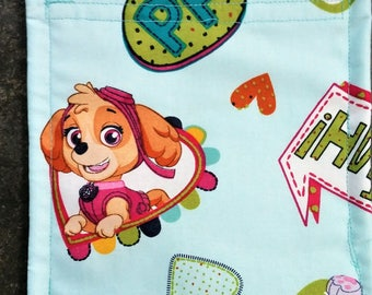 Paw Patrol Reusable Snack Bag Eco Friendly / 2 sizes / Choice of Lining