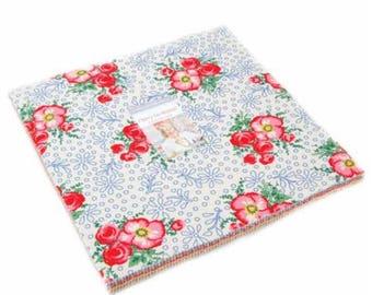 SUMMER SALE - Merry Go Round - Layer Cake - American Jane - Moda Fabrics