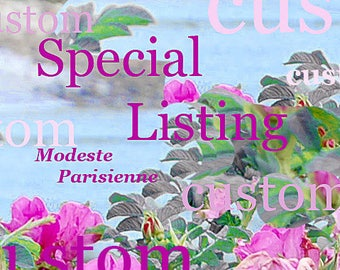Special Listing for - V -