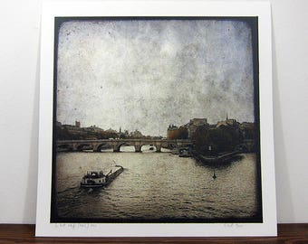 The Pont Neuf - Paris - 30x30cm photo print - signed and numbered