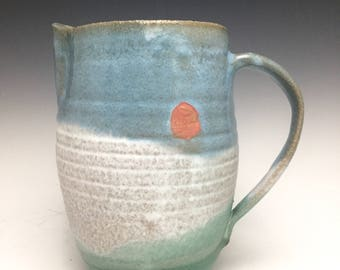 Back Country Collection; Stoneware Pitcher; Functional Ceramic Arts