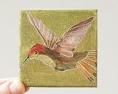 hummingbird VIII / original painting on canvas