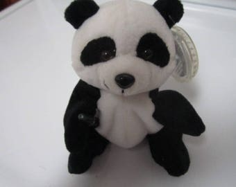 1998 COKE Panda Bear-Beanie Baby-Holding Coke Bottle -International Coca Cola Collection-Hologram Tag - Gift- COKE/Beanie Baby Collectors