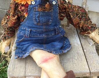 Ellie Mae the Scarecrow Gal