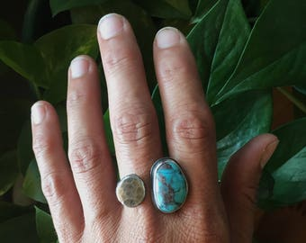 Pebble Ring-Busbee Turquoise