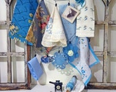 inspiration kit No044 - blue sewing room
