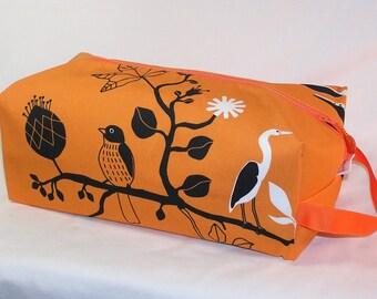 Pumpkin Cranes Sweater Bag