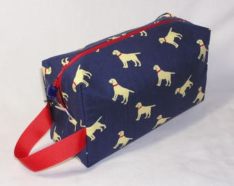 Labs on Navy Project Bag