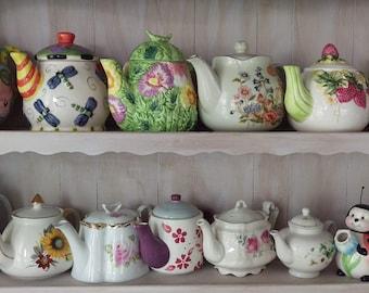 14 Piece Teapot Collection